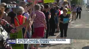 1 arrested following protest at ICE office on Detroit's east side [Video]