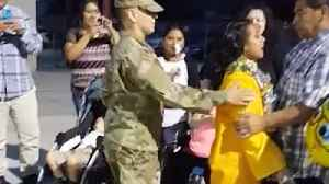 Soldier surprises sister at her graduation ceremony [Video]
