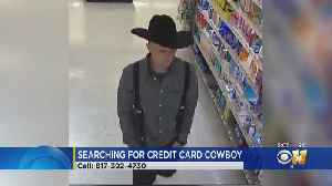 Fort Worth Police Looking For Cowboy Credit Card Thief [Video]