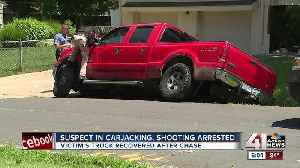 Suspect in KCMO armed carjacking taken into custody after chase [Video]