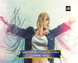 Taylor Swift emerges as highest-paid celebrity on Forbes Celebrity 100 list [Video]