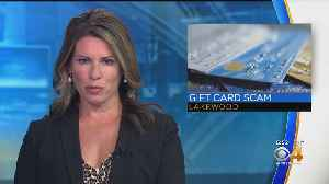 Lakewood Police Warn About Gift Card Scam [Video]