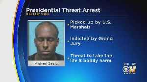 Keller Man Who Made Threats Against The President Faces Federal Indictment [Video]