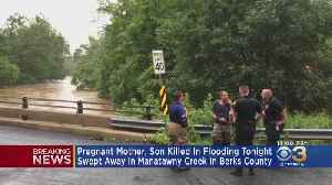 Pregnant Woman, 8-Year-Old Son Killed In Berks County Floodwaters, Police Say [Video]