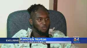 Former Dolphin Kendrick Norton Opens Up About Injuries [Video]