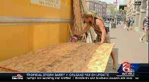 News video: BARRY: French Quarter in NOLA braces for tropical storm, possible hurricane