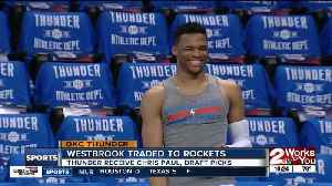 OKC Thunder trade Russell Westbrook to Houston Rockets for Chris Paul and Draft Picks [Video]