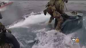 WATCH: Coast Guard Officers Leap Onto Moving Drug Sub [Video]