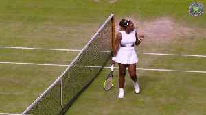 News video: Wimbledon day nine: Williams to face Halep in women's final