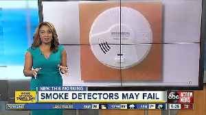 Smoke alarms recalled due to risk of not alerting consumers to fire [Video]