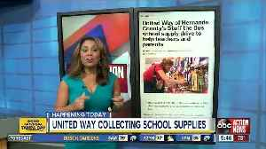 Stuff the Bus school supply drive to help teachers and parents [Video]