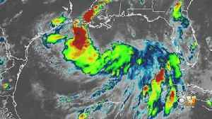 News video: Tropical Storm Barry Lapping At Edge Of Louisiana Coast