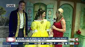 Behind the scenes with Beauty and the Beast - 7:30am live report [Video]