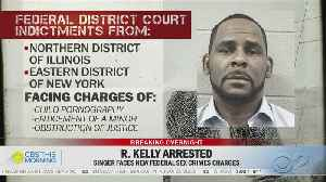 R. Kelly Arrested On Federal Charges [Video]