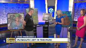News video: Plymouth Art in the Park celebrates 40th birthday