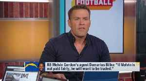 NFL Network's Kyle Brandt: Los Angeles Chargers running back Melvin Gordon holds 'ultimate trump card' in contract negotiations [Video]