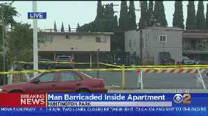 Overnight Standoff Continues Into Morning In Huntington Park [Video]