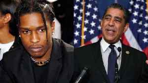 New York Congressman Vows to Fight for A$AP Rocky's Freedom [Video]