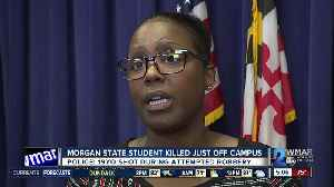 Body of a Morgan State University student found in a car near campus Thursday morning [Video]