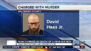 News video: Man arrested and charged in the death of his girlfriend's 2-year-old son last month in Essex