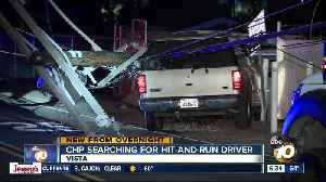 Driver leads chase, takes down power poles [Video]