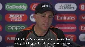 New Zealand coach: More pressure on England ahead of Cricket World Cup final [Video]