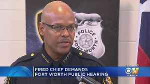 News video: Former FWPD Chief Says His Termination Was