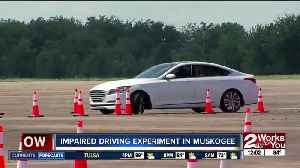 Impaired driving experiment in Muskogee [Video]