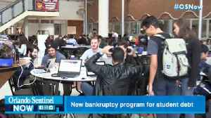 New bankruptcy program seeks to help Floridians with student debt [Video]