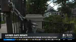 NJ Community Members Want Gate To Stay Unlocked Overnight [Video]