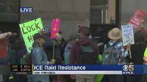 Protesters Gather In San Francisco Ahead Of Planned ICE Raids [Video]