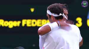 Federer and Djokovic battle to take their places in Wimbledon final [Video]