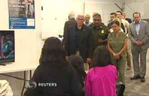 News video: Migrants at TX facility 'well cared for': Pence
