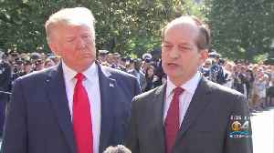 Former Florida US Attorney Alex Acosta Resigns As Secretary Of Labor For Role In Jeffrey Epstein Scandal [Video]