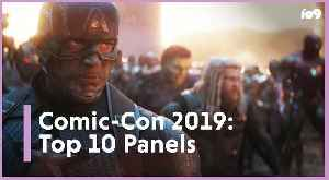 10 Best Panels at SDCC 2019 [Video]