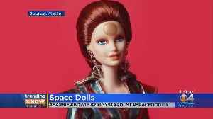 News video: Barbie Gets David Bowie Inspired Makeover