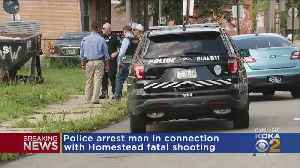 Police Arrest Male Suspect In Connection With Another Homestead Homicide [Video]