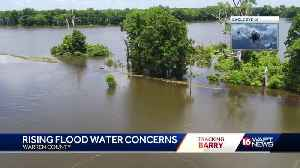 Backwater flooding big concern in face of Barry [Video]