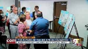 Covington worried about future of IRS site [Video]