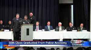 24 new Huntsville police officers graduate from academy [Video]