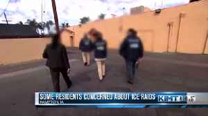 Some Residents Concerned About ICE Raids [Video]