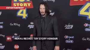 Keanu Reeves Reflects On 'Toy Story 4' Role [Video]
