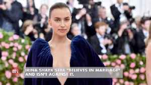 Irina Shayk Is Still Confident In The Institution Of Marriage [Video]