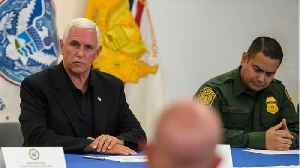 Mike Pence Visits Federal Detention Centers [Video]