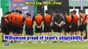 World Cup 2019 | Williamson proud of the way his boys have adapted to conditions [Video]