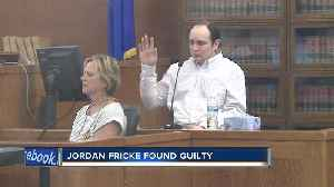 Jordan Fricke found guilty on all four counts in shooting death of Officer Matthew Rittner [Video]