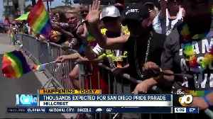 Thousands expected for San Diego Pride Parade [Video]