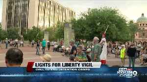 Lights for liberty vigil held to end detention camps [Video]
