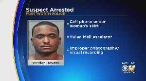 Fort Worth Police Arrest Man Suspected Of Taking Photos Underneath Woman's Skirt [Video]