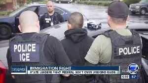 News video: Colorado Democratic, immigration leaders sound alarm over possible upcoming ICE raids in Denver